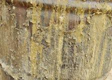 текстура ржавчины остальных более глубокого фокуса штанги левая Стоковые Изображения