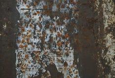 Текстура ржавчины Grunge железная Стоковые Изображения