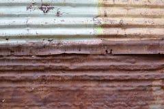 Текстура 4240 - ржавый рифленый лист Стоковые Изображения RF