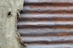 Текстура 4295 - рифленый лист и сумка Стоковая Фотография RF