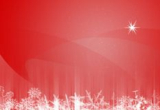 текстура рождества бумажная Стоковые Изображения