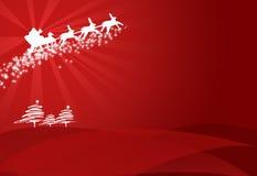 текстура рождества бумажная Стоковое Фото