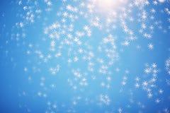 Текстура рождества абстрактного яркого блеска праздничная с сияющими звездами o Стоковые Изображения RF