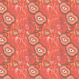 текстура розы предпосылки безшовная Стоковое фото RF