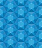 Текстура сапфира безшовная Голубая предпосылка самоцвета Стоковые Фотографии RF
