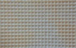 Текстура сброса поверхности печенья или favi, предпосылки конца-вверх абстрактной Стоковые Изображения RF