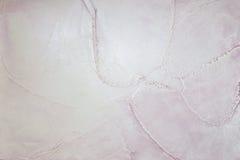 Текстура сброса цвета сирени выбитая штукатуркой Стоковые Изображения