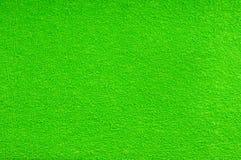 Текстура сделанная из зеленого материала ворсистого Стоковые Фотографии RF