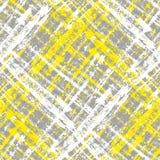 Текстура серого и желтого карандаша безшовная иллюстрация вектора