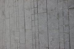 Текстура серого квадрата вымощая плитки на всей рамке Стоковое Изображение RF