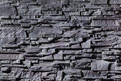 Текстура серого цвета stonewall Стоковая Фотография