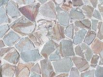 Текстура серой каменной стены 3 Стоковые Фотографии RF