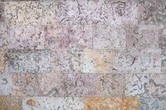 Текстура серых и желтых стен камня Стоковая Фотография