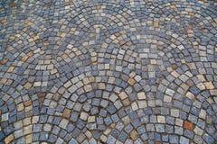 Текстура серых каменных отмелых квадратных pavers Стоковые Изображения
