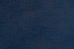 текстура сини близкая кожаная естественная вверх Стоковое Изображение
