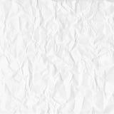 Текстура скомканной бумаги в белизне также вектор иллюстрации притяжки corel бесплатная иллюстрация