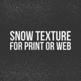 Текстура снега для печати или сети Стоковое Фото