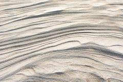 Текстура снега и песка стоковая фотография rf