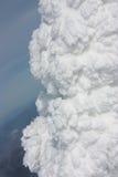 Текстура снега Стоковая Фотография RF