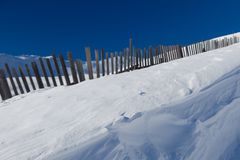 Текстура снега, Passo Tonale, Италия Стоковое Фото