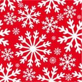 текстура снежинок рождества Стоковые Фото