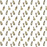 Текстура соевых соусов Стоковое фото RF