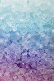 текстура соли для принятия ванны Стоковая Фотография