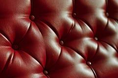 текстура софы предпосылки кожаная Стоковое Изображение