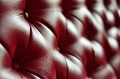 текстура софы предпосылки кожаная Стоковое фото RF
