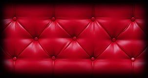 текстура софы предпосылки кожаная Стоковое Изображение RF