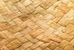Текстура сплетенной соломы стоковая фотография rf