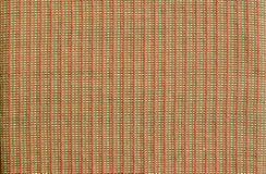 Текстура сплетя ткани руки Стоковая Фотография