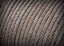 текстура стали веревочки Стоковое фото RF