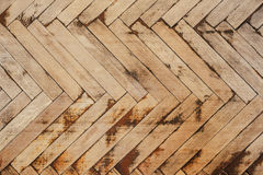 Текстура старого деревянного партера стоковое фото