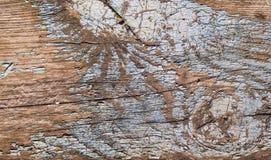 Текстура старого конца-вверх доски стоковое изображение