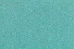 Текстура старого крупного плана бумаги бирюзы Структура плотного картона Зеленая предпосылка Стоковое Фото