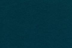 Текстура старого крупного плана голубой бумаги военно-морского флота Структура плотного картона Cyan предпосылка Стоковые Фото