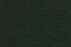 Текстура старого крупного плана зеленой книги Структура плотного картона Черная предпосылка Стоковая Фотография
