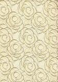 текстура стародедовской предпосылки флористическая Стоковая Фотография RF