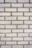 Текстура старой белой кирпичной стены Стоковое Изображение RF