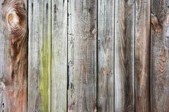 Текстура старой деревянной загородки Стоковая Фотография RF