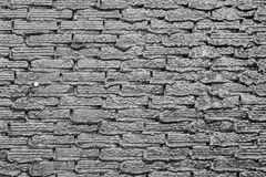 Текстура старой каменной стены для предпосылки Стоковая Фотография