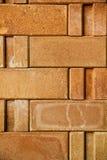 Текстура старой кирпичной стены Стоковые Изображения