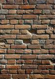 Текстура старой красной кирпичной стены Стоковое Изображение RF
