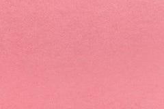 Текстура старой розовой бумажной предпосылки, крупного плана Структура плотного розового картона Стоковые Изображения