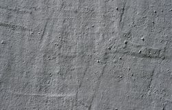 Текстура старой стены покрытая с серой штукатуркой Стоковая Фотография