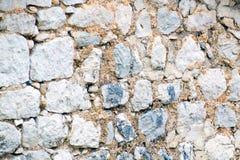 Текстура старой стены утеса для предпосылки Стоковые Фотографии RF
