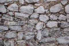 Текстура старой стены утеса Стоковые Изображения RF