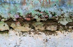 Текстура старой стены Стоковые Фотографии RF
