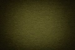 Текстура старой темной ой-зелен бумажной предпосылки, крупного плана Структура плотного глубокого сизоватого картона стоковое фото rf